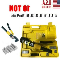 10 ton hydraulic wire battery cable lug