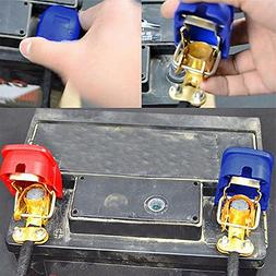2Pc 12V Car Quick Release Battery Disconnect Terminals Clamp