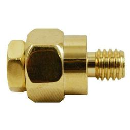 2pcs GOLD Plated Short Side Post Mount GM Battery Terminal T