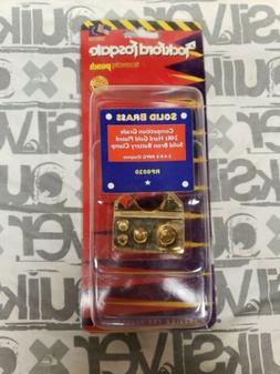 battery clamp positive gold plated 2 4
