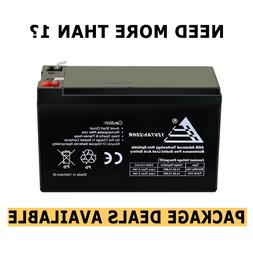 ExpertBattery 12V 7AH Battery Rechargeable Sealed Lead Acid