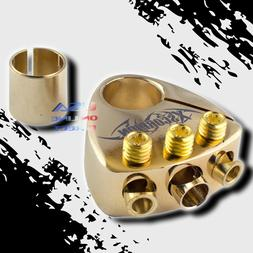 Gold Plated Battery Terminal Multi Output Car Stereo 2 4 8 G