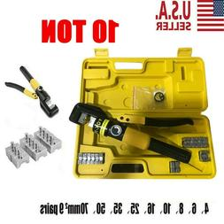 Hydraulic Wire Battery Cable Lug Terminal Crimper Crimping T