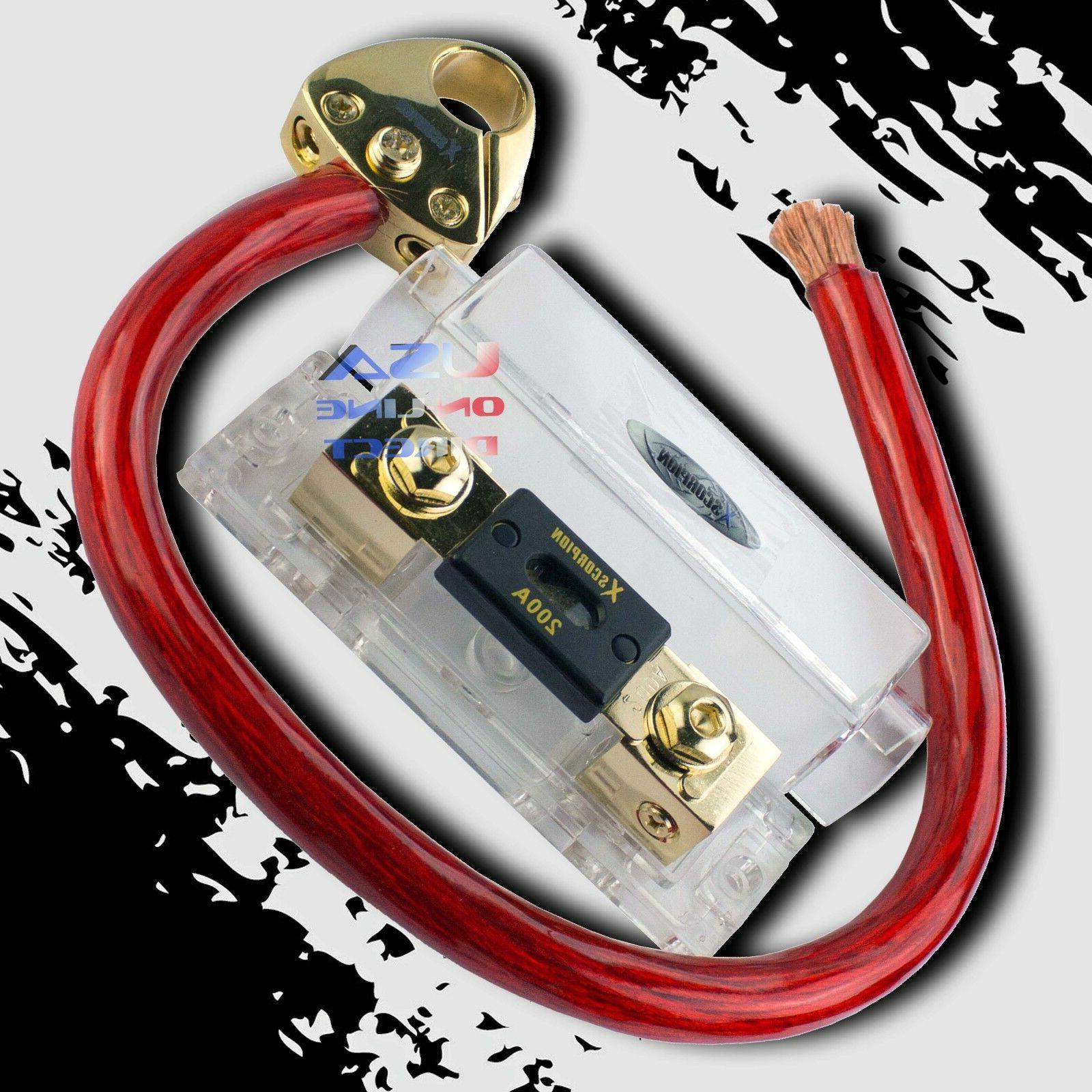1 0 gauge awg ofc wire kit