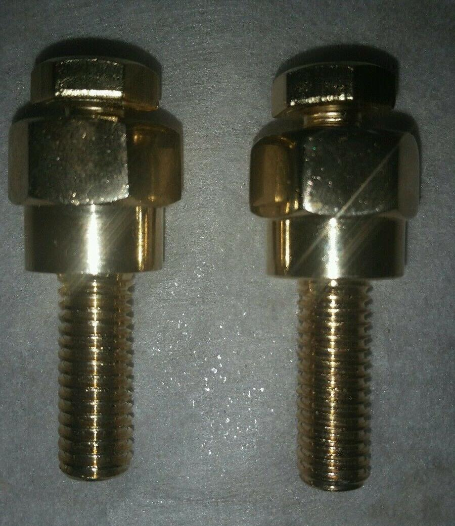 2 battery terminal gold coated extended gm