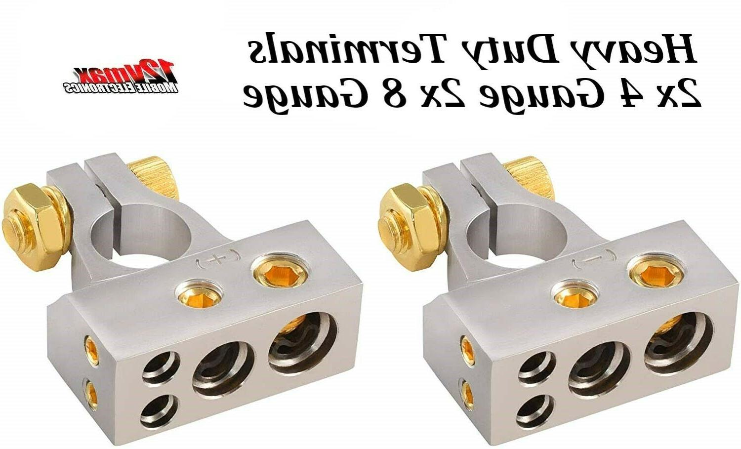 quality battery terminal clamp positive negative combo