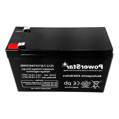 UB1270 12 Volt Rechargeable Battery F2 Battery