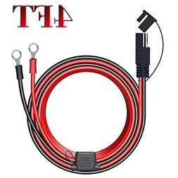 LST 4FT 12V Ring Terminal SAE to O Ring Connecter Cord Cable