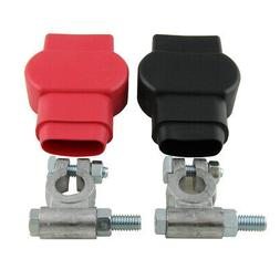Military Style Battery Terminal Top Post Kit  With Covers