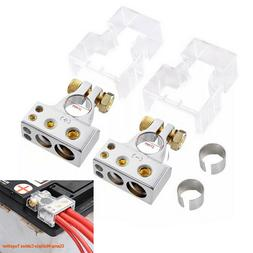 Positive Negative Car Battery Terminal Clamp Connector With